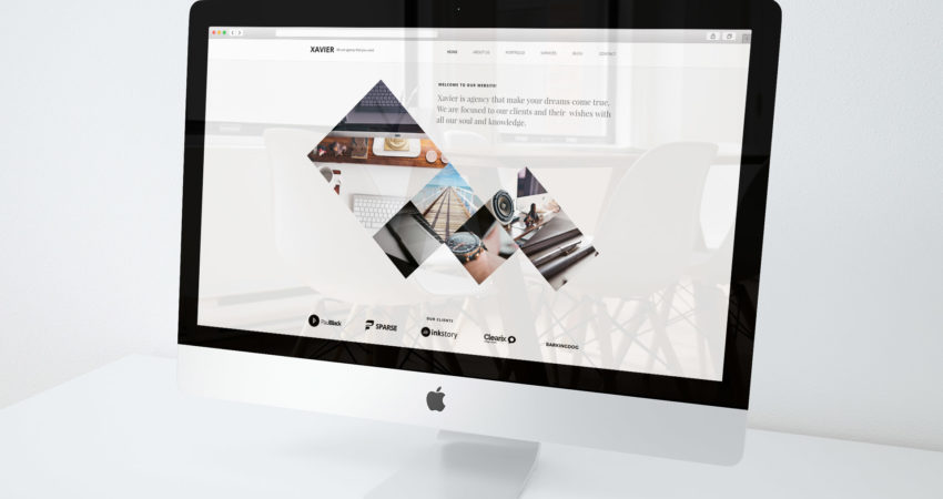 Xavier Agency WordPress Theme on Themeforest